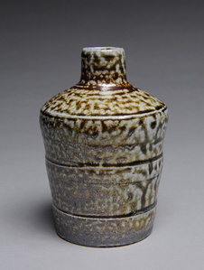 Sake Bottle Salt Glazed