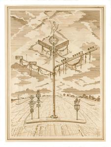 Texas Drawing #16, Divine Ornaments