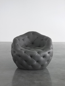Spherical Bomb Armchair (Dark Grey)