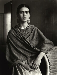Frida Kahlo, Painter and Wife of Diego Rivera