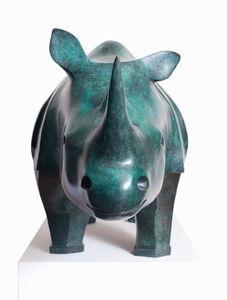 Rhinoceros, monumental model