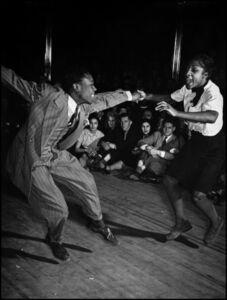 Savoy Ballroom in Harlem, New York City.
