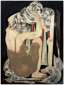frau vor spiegel I (women in front of mirror I)