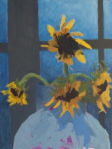 Sunset Sunflowers