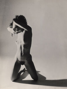 Nude Girl in Studio