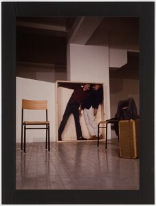 Yvonne Rainer / Philip Glass, 'Lives of Performers' at 'Music and Dance U.S.A'. L'Attico, Rome (Via Beccaria Garage)