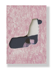 Untitled (Pink/Grey Boars)