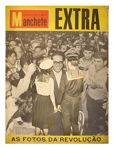 Uncover - Mancheta -11 de abril de 1964 (rio de janeiro)