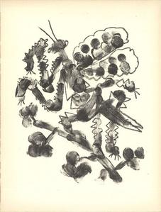 Pablo Picasso De Memoire D'Homme VI Mourlot