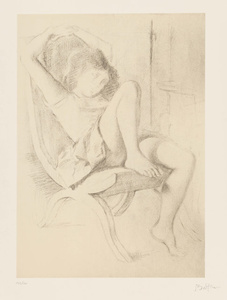 Portrait of a Girl, from Dessins