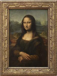 Épouse de Francesco del Giocondo, dite Mona Lisa, ou la Joconde (Wife of Francesco del Giocondo, called Mona Lisa, or la Joconde)