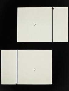Ohne Titel / Untitled (o b a u)
