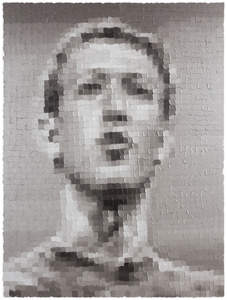 Silver Mark Zuckerberg