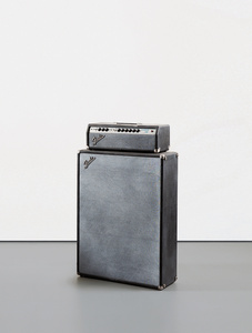 Fender Showman Amp with Cabinet #2 (Duct Tape & Cigarette Burn)