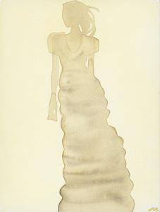 Silhouette (Dress by Calvin Klein)