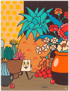 Still Life With Acid & Cactus