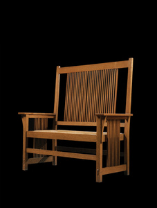 Spindle Settee