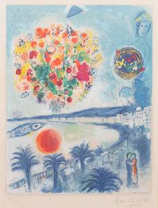 Soleil Couchant (from Nice et la Côte d'Azur by Charles Sorlier)