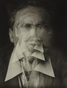 Vortograph of Ezra Pound