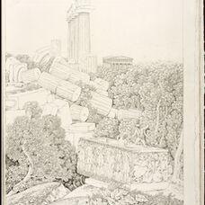 Vue d'une partie du Temple de Junon Lacinia … Agrigente