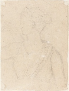 Study of the Statue of Diana in the Vatican [verso]