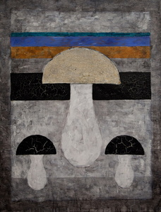Suprematist Mushroom no. 6