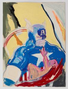 Captain America and Child