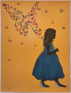 Butterfly Collector (orange)