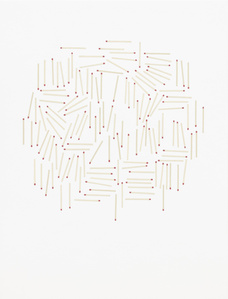 Untitled (matches, scatter)