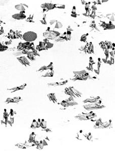 Série Rio de Janeiro - Praia Vista de Cima