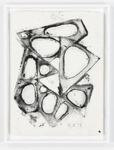 Mel Kendrick - Water Drawings