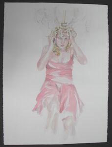 Untitled (single figure, chandelier) from Sorority Stage Fright