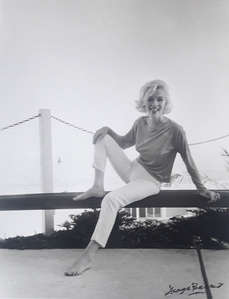 Marilyn Monroe Amused 1962