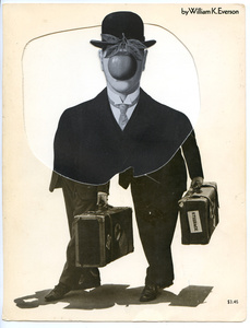 Collage Nr. 150 (Dick und Doof/Magritte)