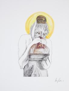 Man devouring Big Mac (6)