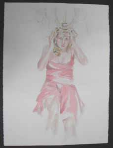Untitled (single figure, chandelier) from Sorority Stage Fright