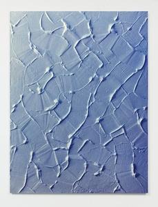 Untitled (Trowel/Blue/Wall)