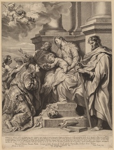 Saint Rosalia Crowned by the Child Jesus