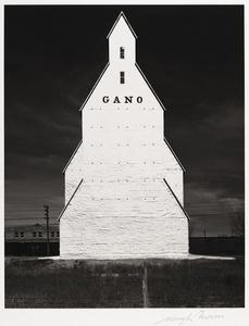 Gano Grain Elevator, Western Kansas, 1940