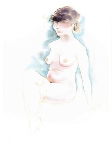 Sitzender Akt (Seated Nude)