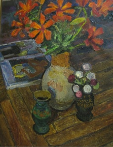 Still life with lilies