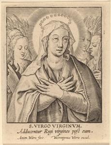 S. Virgo Virginum