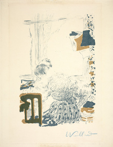 The Dressmaker (La Couturière) from Album de la Revue Blanche