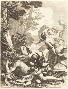 Bacchanal with Sleeping Bacchus