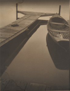 Untitled (boat at the dock)