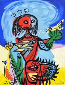 Simone en de vogels