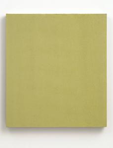 Gray Yellow Studio Painting
