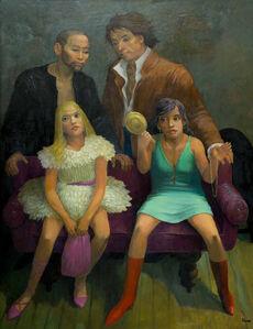 "Vanitas, or Models (An Homage to Goya's ""Majas on a Balcony"")"