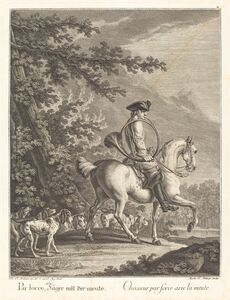 Huntsman with a Pack of Hounds