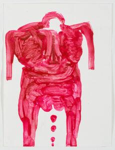 Sans titre - Untitled (femme rouge - red woman)